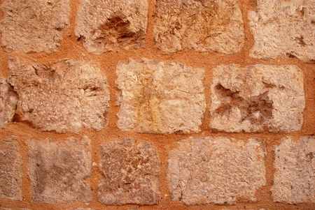 Old medieval stone wall texture background Stock Photo - 14631234