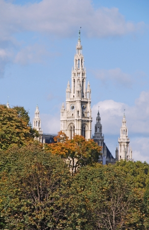 City Hall of Vienna (Rathaus), Austria photo