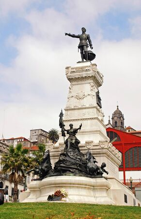 Henry (Infante Dom Henrique) the Navigator Monument, Porto, Portugal photo