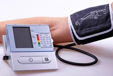 preasure: Blood preasure measuring process