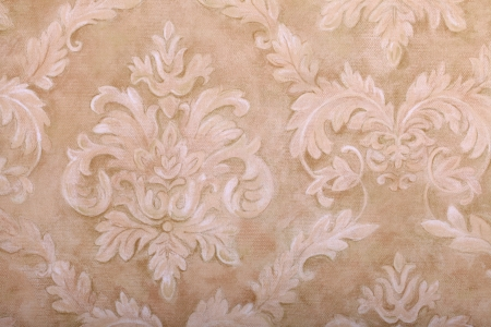 Vintage beige wallpaper with vignette victorian pattern Stock Photo - 21002990