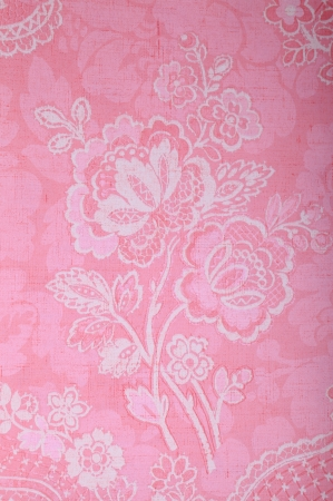 Vintage pink wallpaper with vignette victorian pattern Stock Photo - 23026834