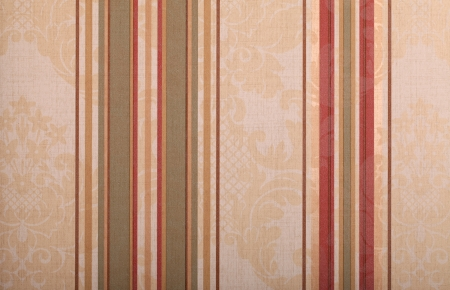 beige vintage wallpaper background with red and green strips Stock Photo - 23027026
