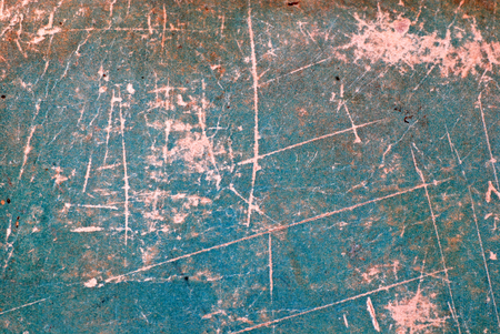 rundown: Green grunge scratched paper texture with pixel grid effect, may use as background