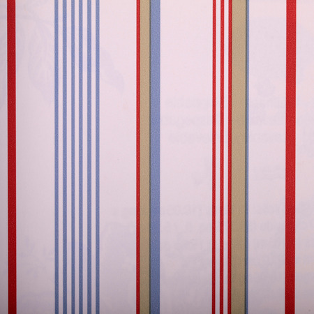 striped wallpaper: vintage white striped wallpaper with red and blue strips, square image
