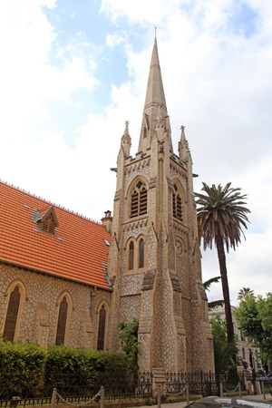 protestant: The Temple of Holy Spirit - Protestant church in Nice, France