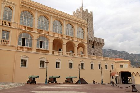 monte carlo: MONTE CARLO, MONACO - MAY 15, 2013: Princes Palace of Monaco is the official residence of the Prince of Monaco, built in 1191, Monte Carlo, French Riviera
