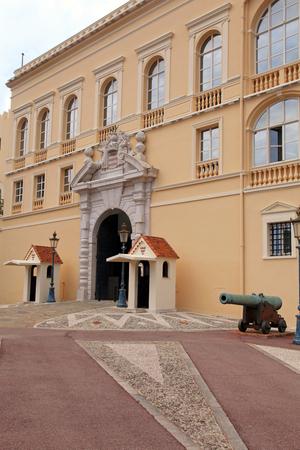 cote d'azure: Princes Palace of Monaco, the official residence of the Prince of Monaco.