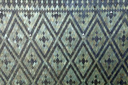 vitus: Roof tiles at St. Vitus Cathedral, Prague