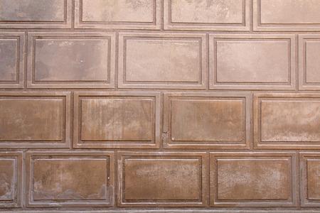 stucco: beige weathered stone stucco wall texture background Stock Photo