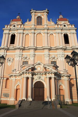 casimir: Church of St. Casimir, Vilnius, Lithuania, vertical image