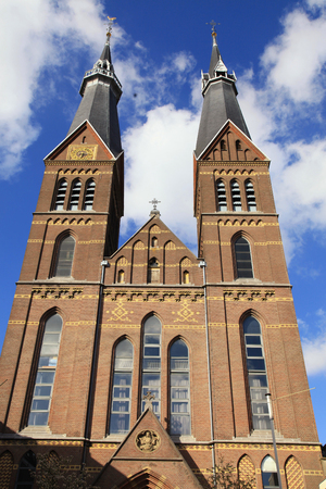 church of our lady: AMSTERDAM, NETHERLANDS - MAY 3, 2016: Church Our Lady Immaculate Conception in Amsterdam, Netherlands. The building is now used for exhibitions, concerts etc.