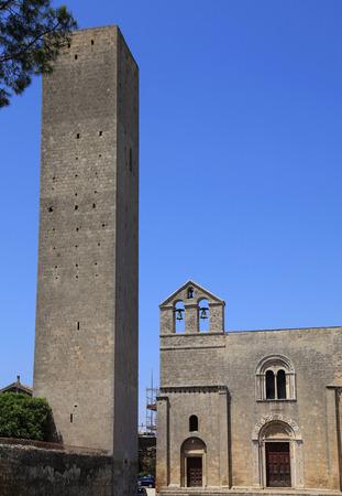 The church of Santa Maria di Castello, Tarquinia, province of Viterbo, Lazio, Italy Stock Photo