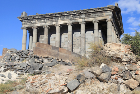 The Temple of Garni is hellenistic temple in Garni, Armenia. It is the best-known structure and symbol of pre-Christian Armenia. It is the only standing Greco-Roman colonnaded building in Armenia