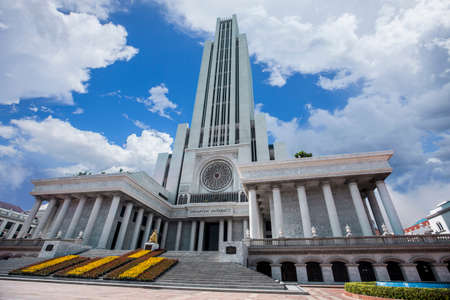 No.5 of the tallest educational buildings in the World is the CL-Cathedral of Learning, Assumption University - Suvarnabhumi Campus. Editorial