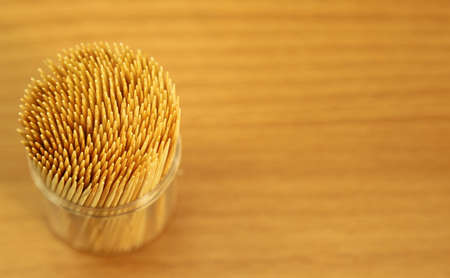 toothpick: Toothpick in kitchen Stock Photo
