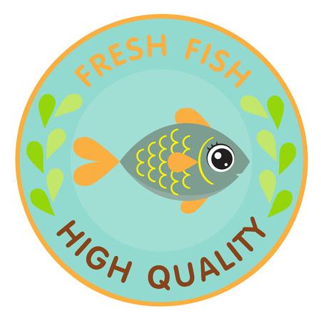 logo poisson: Poissons logo Illustration