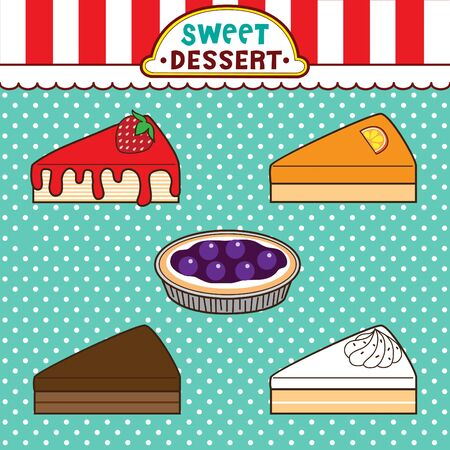 blueberry pie: Sweet desserts