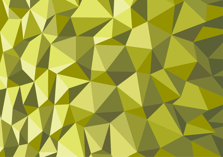 Green Durian polygon design abstract background