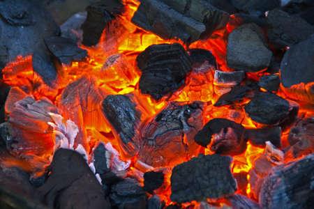coal fire: Embers