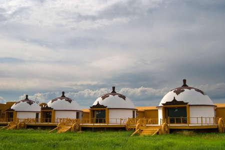 mongolian: Chinese Mongolian Stock Photo