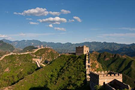 Jinshanling Great Wall of China Stock Photo - 4951496