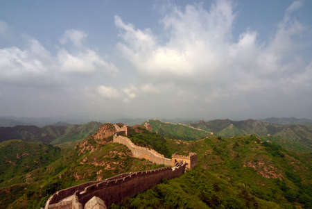 Jinshanling Great Wall of China Stock Photo - 4963026