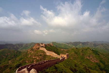 Jinshanling Great Wall of China Stock Photo - 4963026