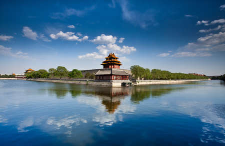 china city: The model of ancient Chinese architecture - battlements
