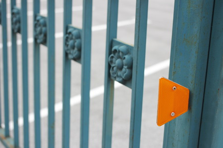 leds: LEDs on the fence