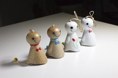 Ceramic sunny doll ornaments