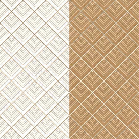 Chinese classical fish scale geometric shading texture Stock Illustratie