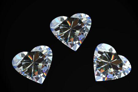 Diamond Hearts Imagens