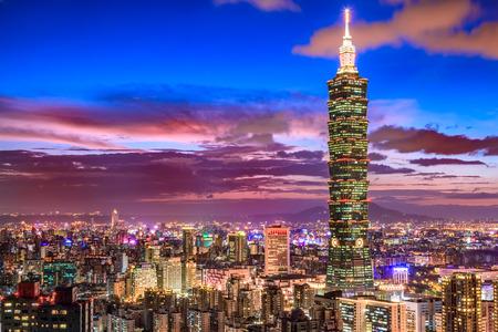 夜に、台湾台北 写真素材 - 50639404