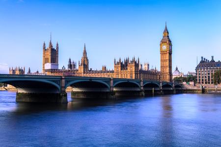 uk: Houses of parliament at dawn, London, UK