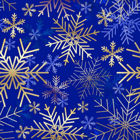 Snowflakes background. Winter seamless pattern. Christmas card. Snowflakes background. Winter seamless pattern. Christmas card