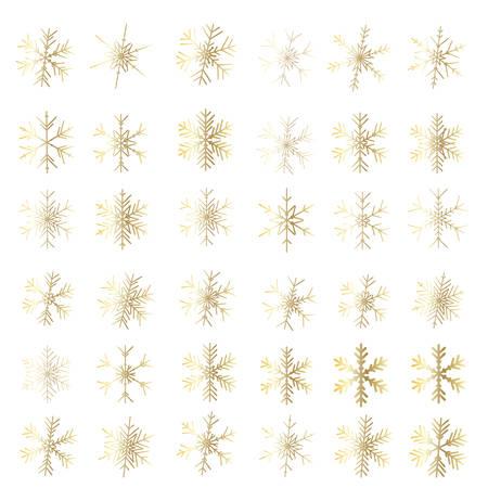 Snow. Vector snowflake icon. illustration for web Vektorové ilustrace