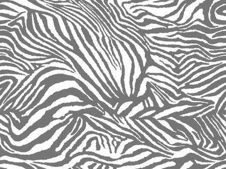 Vector animal print. Zebra ornament. Seamless pattern