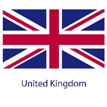 Grunge UK flag.Vector British flag. UK flag in grungy style.Vector Union Jack grunge flag.