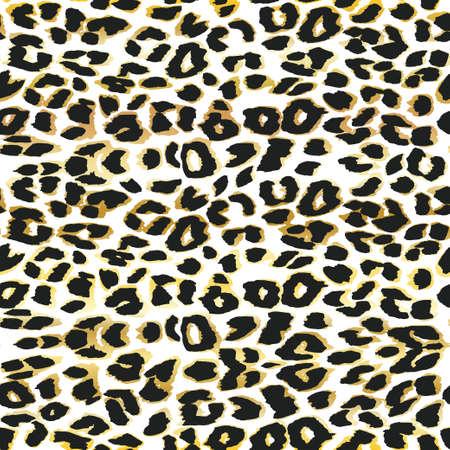 Leopard background. Seamless pattern.Animal print.