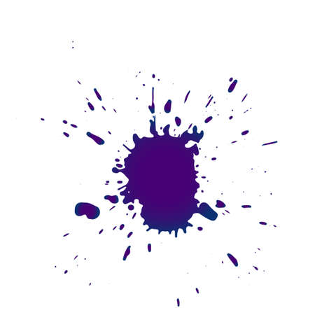 Grunge splatters. Abstract background. Grunge text banners. Color ink splashes.