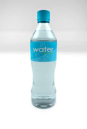 purified: 3D representation of a Water Bottle