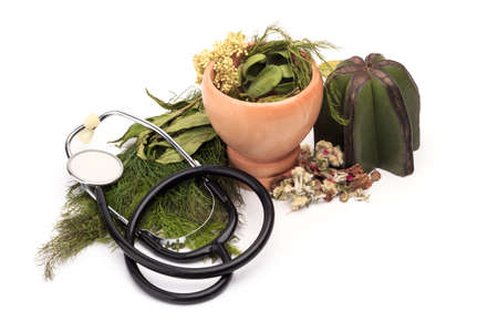 traditional culture: isolated herbal medicines
