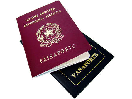 Passports of two different countries: Italy and Argentina