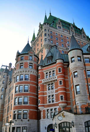 Chateau Frontenac, Quebec City landmark