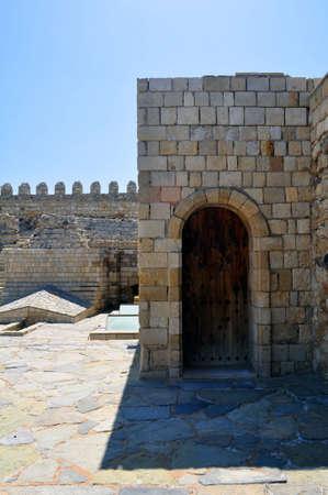 st mark: Venetian castle (Koules), in Crete, Greece