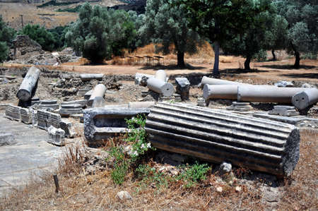 Praetorium. Archaeological site of Gortyn, Crete, Greece