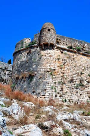 Fortetza: Venetian fortress in Rethymno, Crete, Greece.