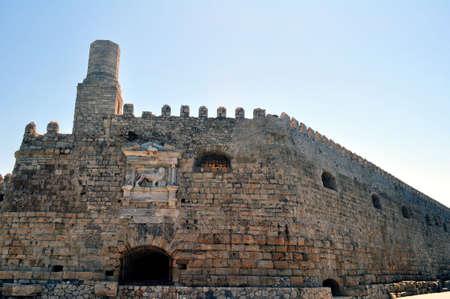 fortification: Fortification: Venetian castle (Koules), in Crete, Greece
