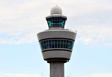 Air Traffic Control tower. Amsterdam Schiphol International. Stock Photo - 5673538